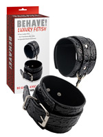 Behave! Luxury Fetish - Be Good Ankle Cuffs